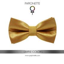 Arany színű csokornyakkendő - fényes