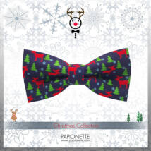 Karácsonyi csokornyakkendő CSM001-gy