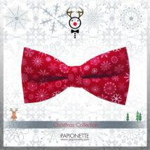 Karácsonyi csokornyakkendő CSM010-gy