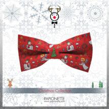 Karácsonyi apa-fiú csokornyakkendő CSM033-af