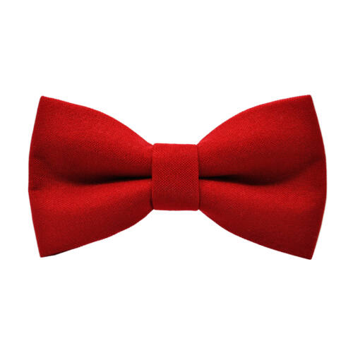 Piros színű csokornyakkendő - matt
