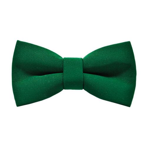 Természetes zöld színű gyermek csokornyakkendő - matt