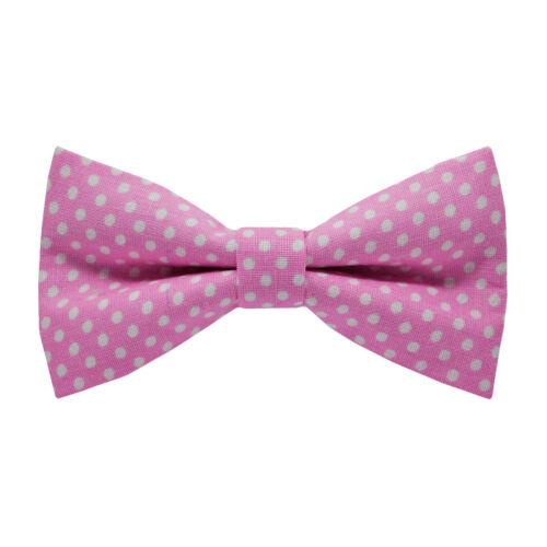 Fehér pöttyös, pink